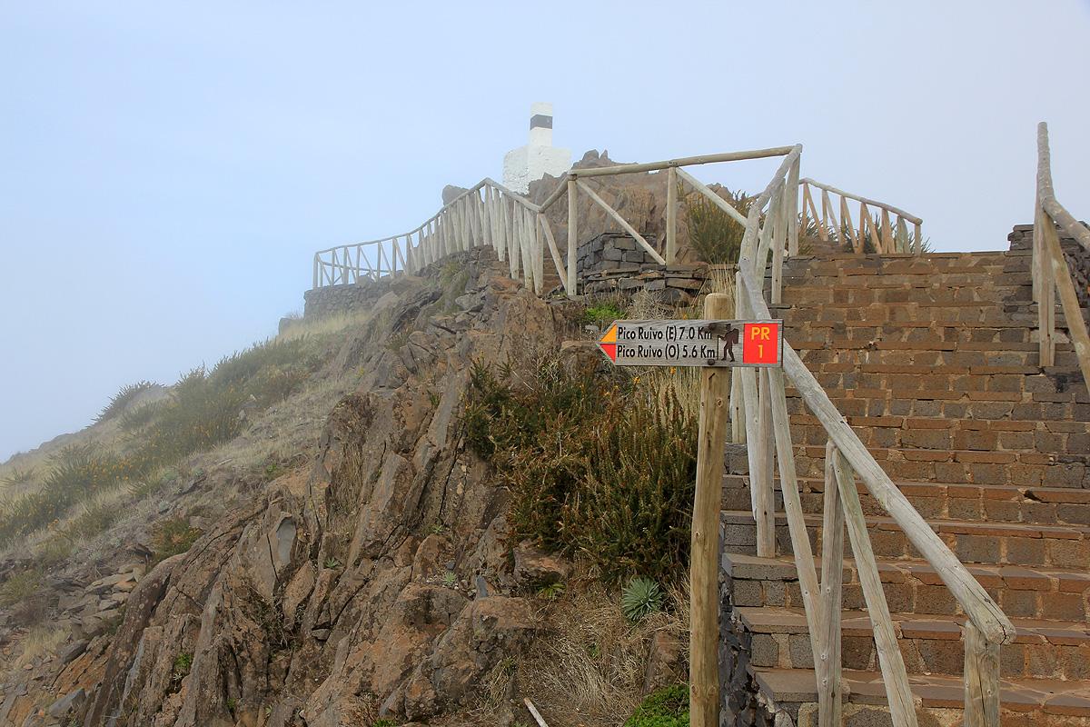 in Madeira Pico Ruivo